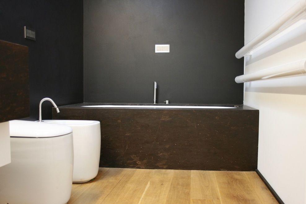 Muur wit en grijs badkamer baden badkamers en muur