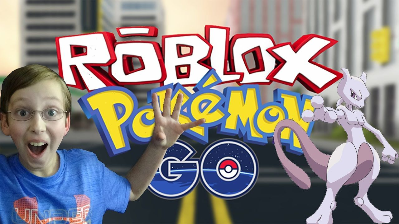 ROBLOX POKEMON GO I CAUGHT MEWTWO! GAMEPLAY | COLLINTV