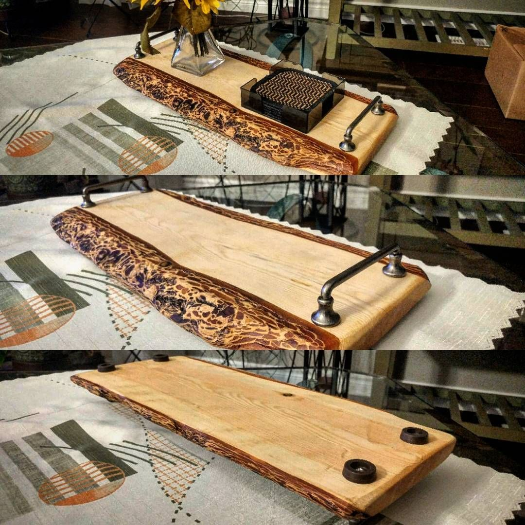 Floating Live Edge Cheese Board Wooden Charcuterie Planks In 2019