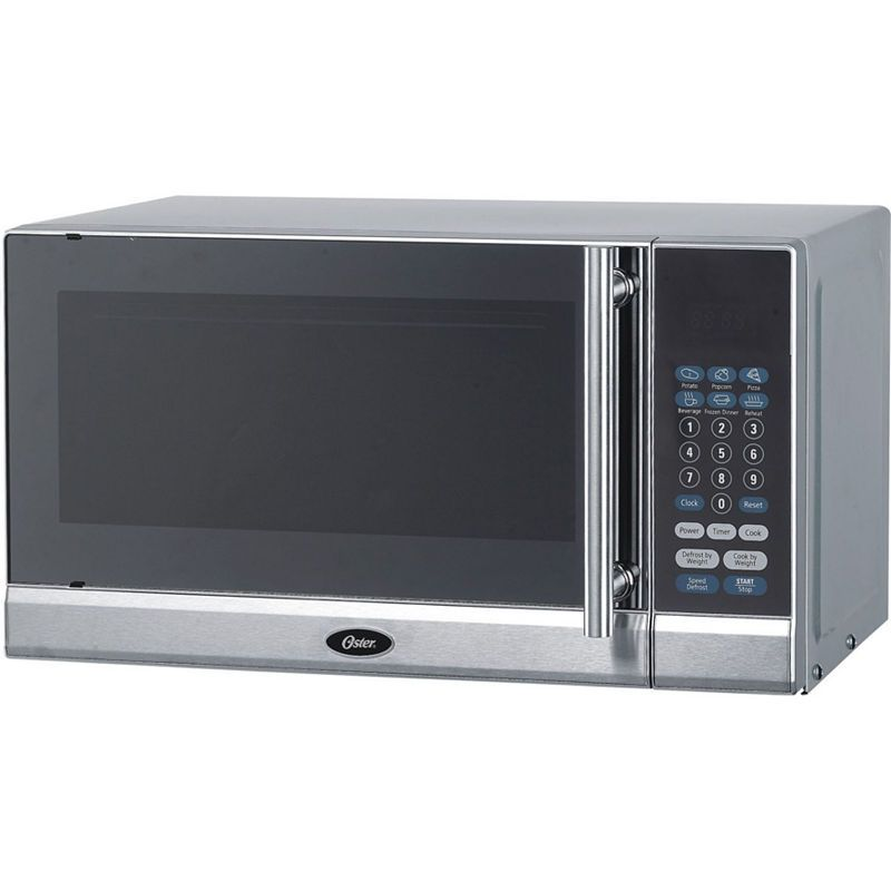 Oster 0 7 Cu Ft Counter Microwave Countertop Microwave Microwave Oven