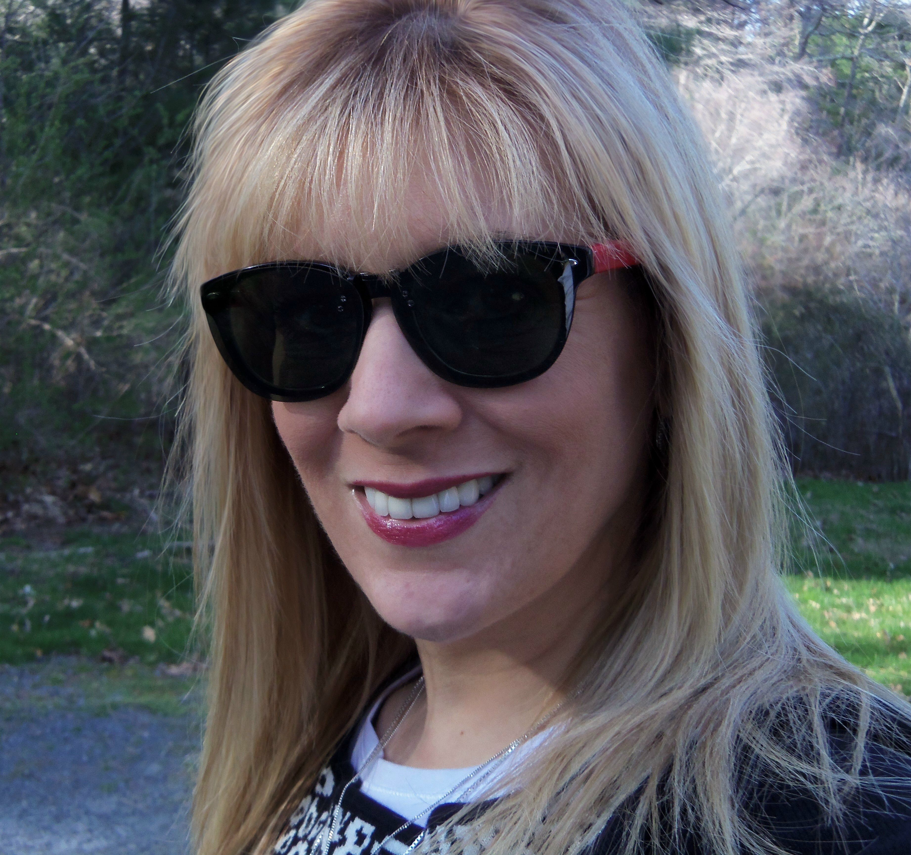 My new sunglasses from Zenni. Frame #501721. I opted for clear ...
