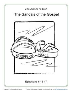 Armor Of God Coloring Page Armor Of God Sunday School Kids