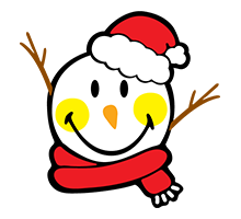 Snowman Smiley
