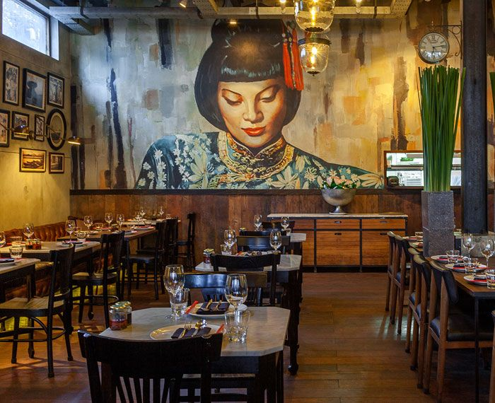 Mamasan Famous Restaurant In Seminyak But So Worth It Can I Get Another Round Of Dumplings Please Bar Lounge Bali Kitchen Bar