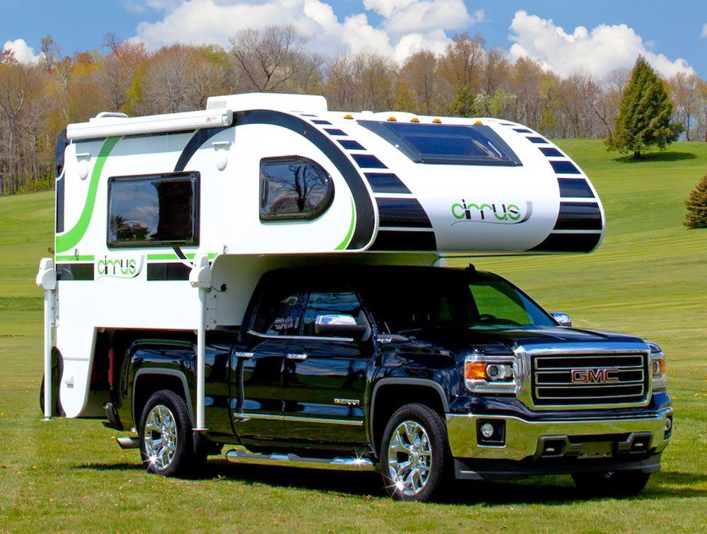 2016 Cirrus 800 Truck bed camper, Slide in camper, Short