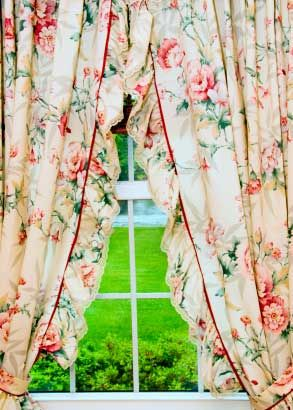 Curtains Ideas country home curtains : 17 Best images about Country style curtains on Pinterest | Ruffle ...