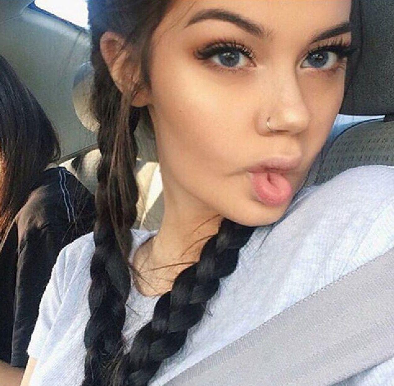 Freckles Piercing Nariz Mujer Piercings Faciales Perforaciones
