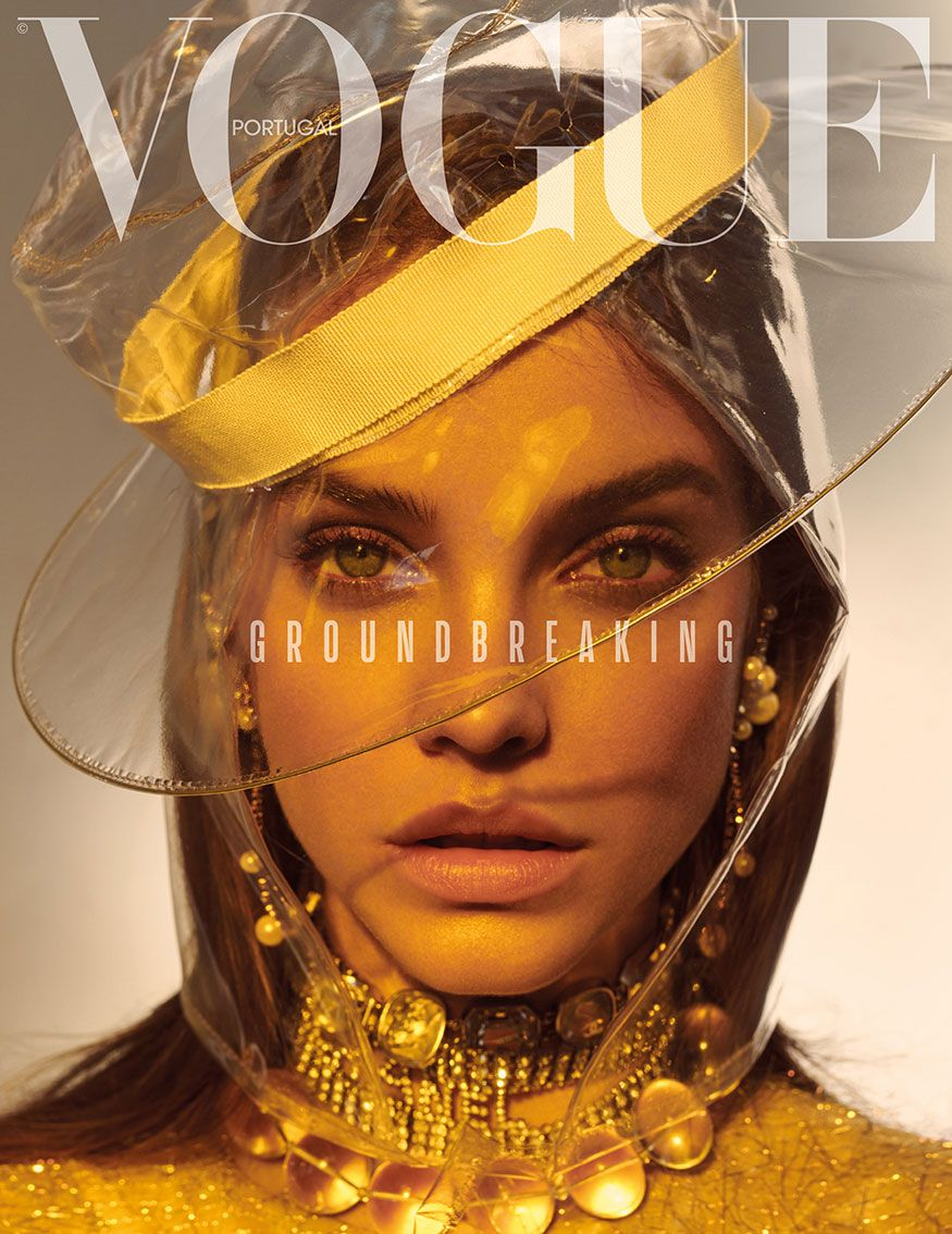 """Magazine Cover: Barbara Palvin in CHANEL by Andreas Ortner for Vogue Portugal March Vogue Covers, Vogue Magazine Covers, Barbara Palvin, It Bag, Img Models, Gossip Girl, Beauty Editorial, Editorial Fashion, Jewelry Editorial"
