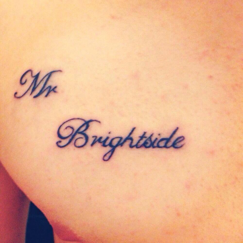 Mr Brightside Tattoo