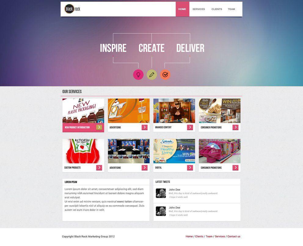 Black Rock Marketing Web Design