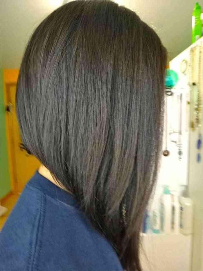 18++ Frisur lange haare vorne kurz inspiration