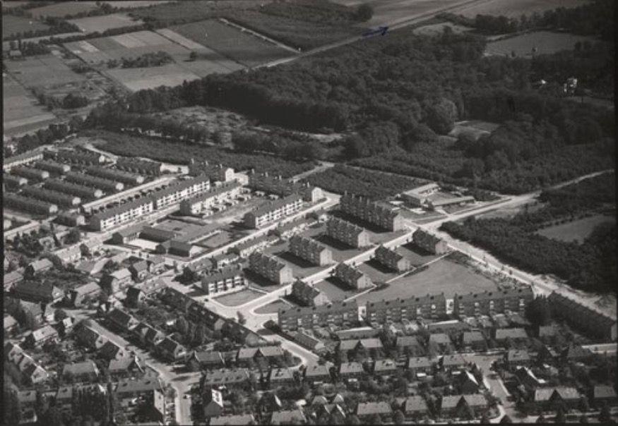 Nieuwbouw Fahrenheitstraat 1953