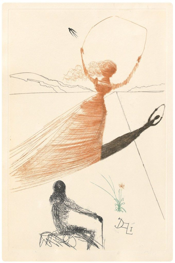 "Salvador Dalí's Rare 1969 Illustrations for ""Alice's Adventures in Wonderland,"" Rediscovered and Resurrected"