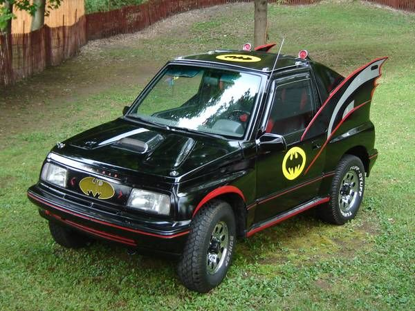 best of craigslist: 1991 GEO TRACKER BATMOBILE | Car | Weird cars
