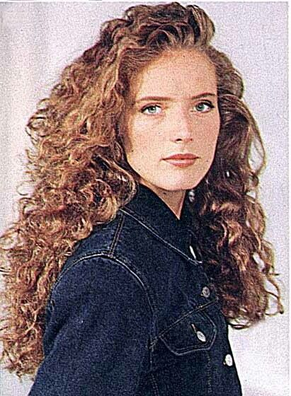 Red curly