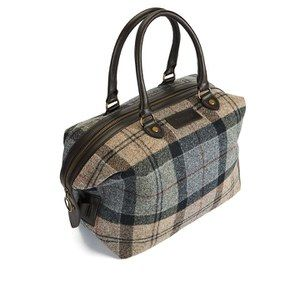 Barbour Women S Munro Tartan Mini Holdall Bag Winter