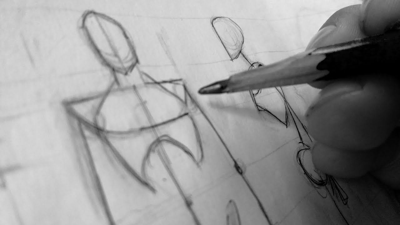 Como Iniciar Un Dibujo Depende De Tu Nivel Videos De Dibujos Clases De Dibujo Imagenes De Arte