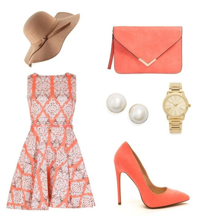 """Untitled #2"" by lena-ceuterick on Polyvore featuring Izabel London, Kate Spade and Michael Kors"