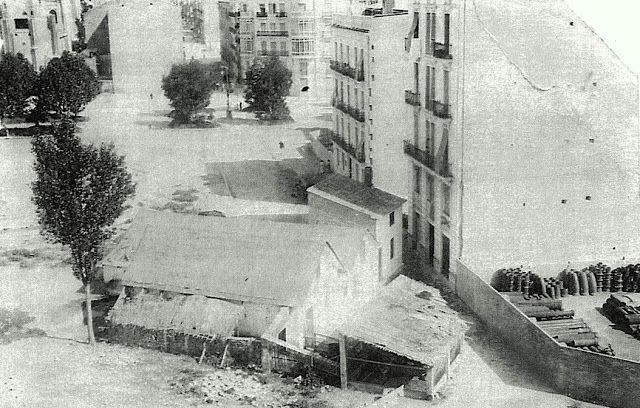 Calle de Joaquín Costa en 1922