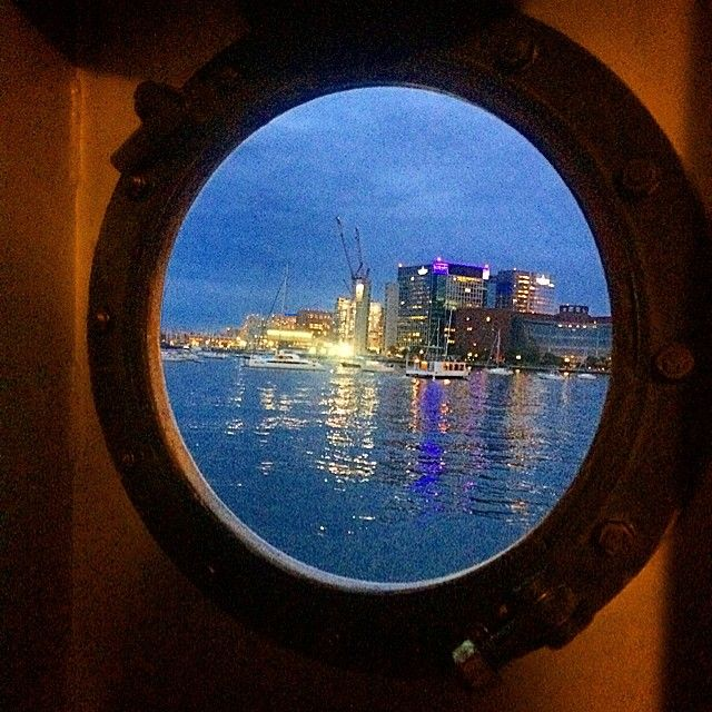A look through a porthole on the Frederick Nolan JR. Iconosquare – Instagram webviewer