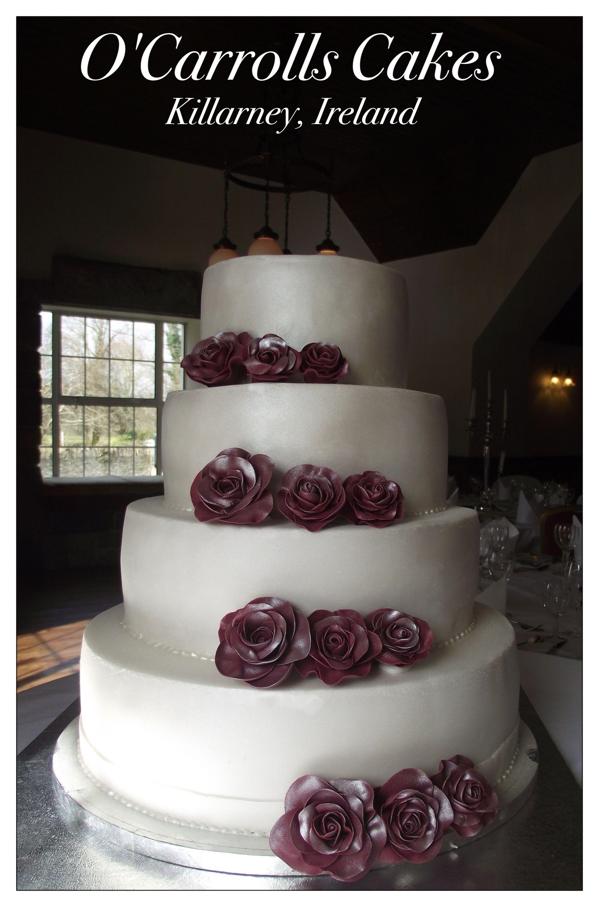 Wedding Cake At Muckross Park Hotel Killarney County Kerry Ireland