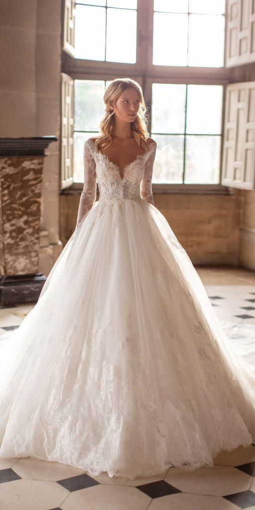 30 Best Lace Wedding Dresses With Sleeves | Wedding Dresses Guide – Berat&Kadir