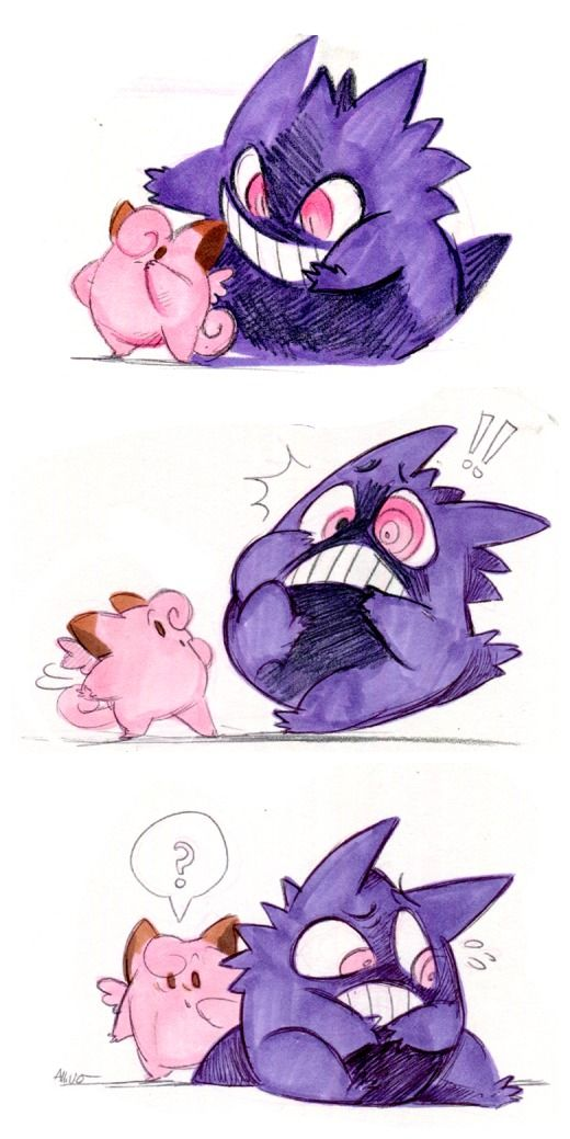 clefairy and gengar pokemon stuff pokemon eeveelutions