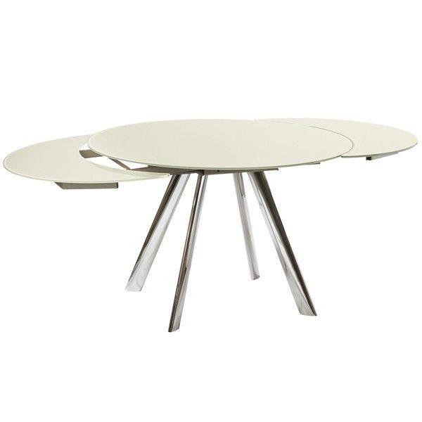 Superb Billig Tisch Rund Ausziehbar Awesome Design