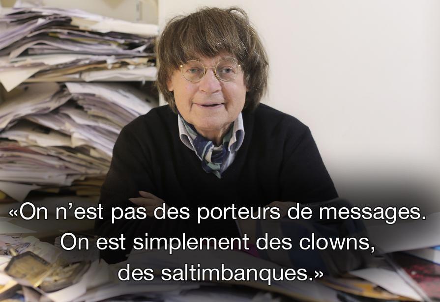Citation de Cabu, le 12 décembre 2014, sur la RTBF. SIPA #CharlieHebdo #jesuischarlie #charliehebdo