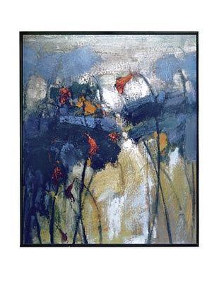 """L. Tuza """"Emy's Task I"""" Hand-Embellished Giclée Signed Print"""
