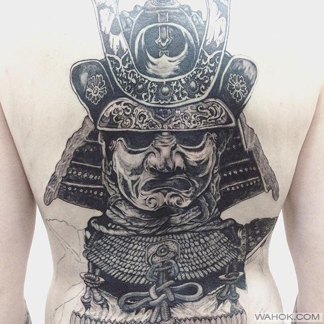 38 Gambar Tato Shogun Samurai Paling Keren Wahok Com Pinterest