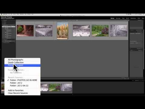 How to clear lightroom catalog
