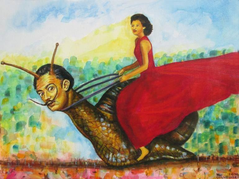 Salvador Dali And Gala Painting Dali Paintings Salvador Dali Paintings Salvador Dali