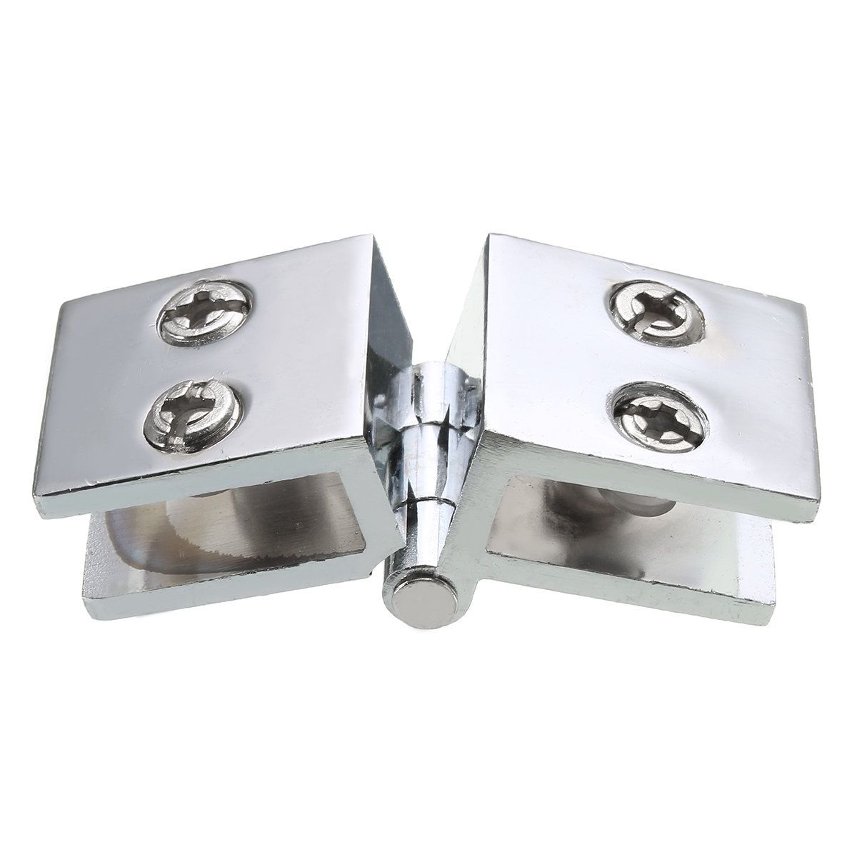 180 Degree Clamp Hinge Double Action for 5-8mm Glass Door ...