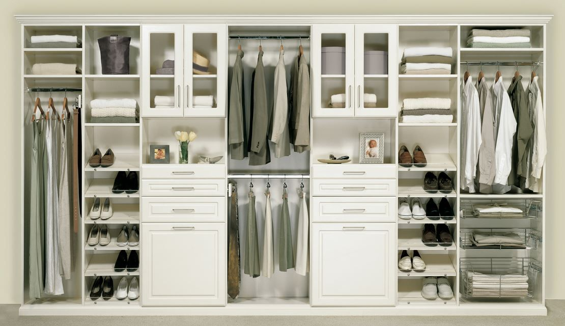 Basic components of contemporary closet design