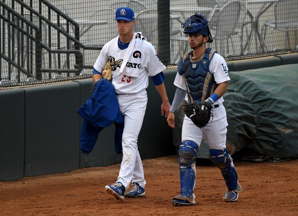 Michael Grove The Dodgers Second Round Draft Pick In 2018 Is Finally Out Of The Woods Dodgers Michael Baseball Players