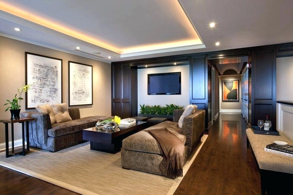 Family Room Ceiling Lights Cove Lighting Design Ideas Contemporary With Wood Paneling Tray Indirect Lighting Family Room Lighting Living Room Lighting