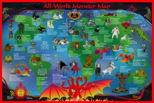 Monster Map!