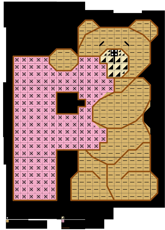 Colori Con La P.Teddy Bears With Pastel Alphabet Cross Stitch Pattern