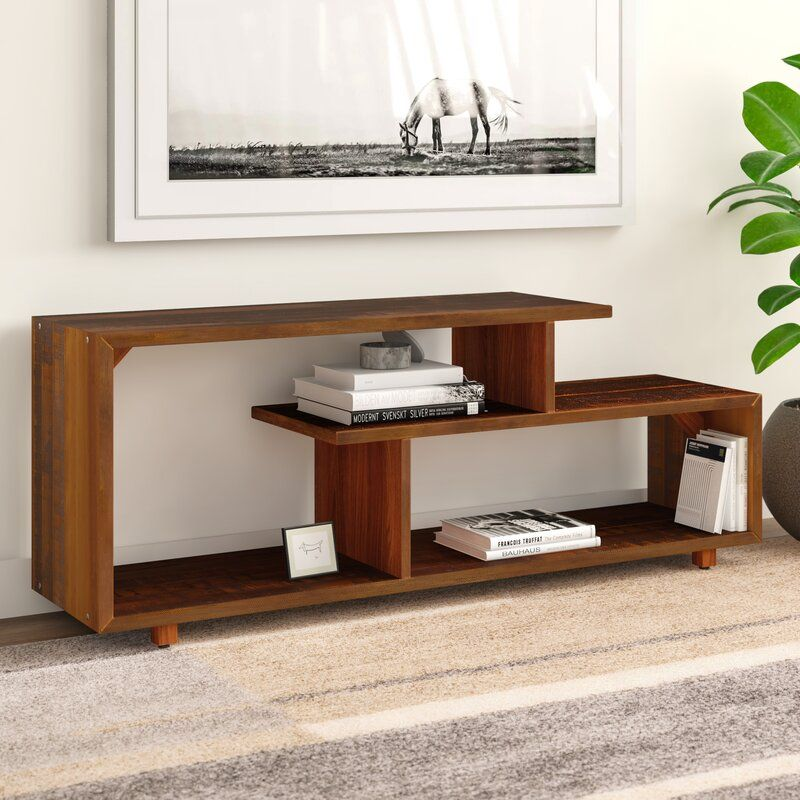 """Carrasco Solid Wood TV Stand for TVs up to 50"""" in 2020"""