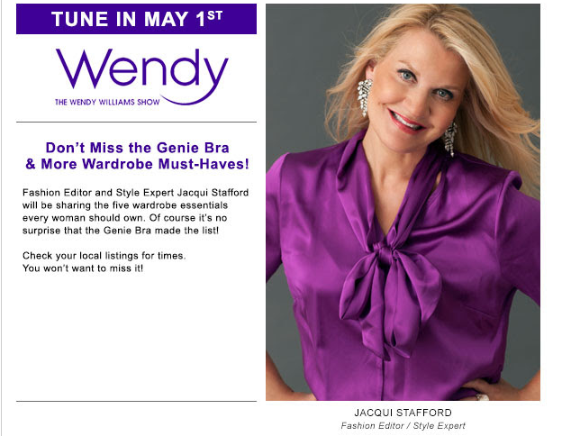 Watch me this Thursday - May 1st - on The #WendyWilliams Show :) #style #fashion #tv