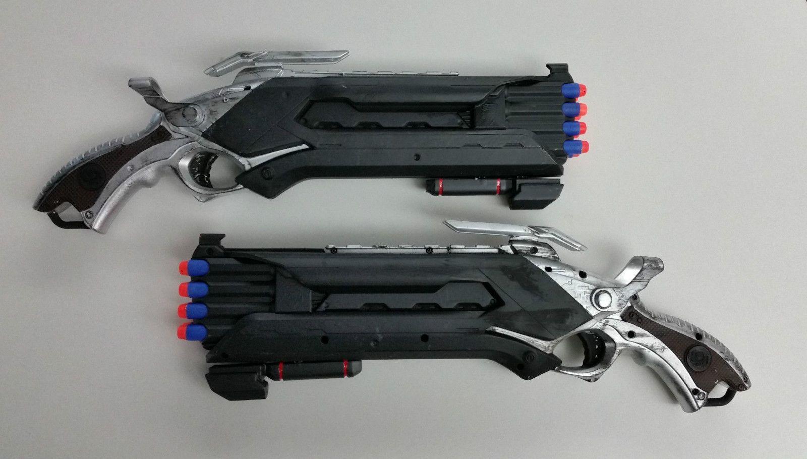 Guns · Overwatch Reaper inspired Nerf ...