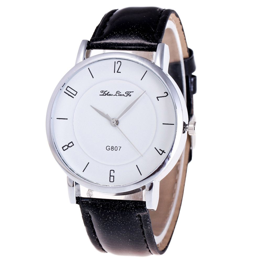 Brand watches women fashion simple clock men watch couple lovers