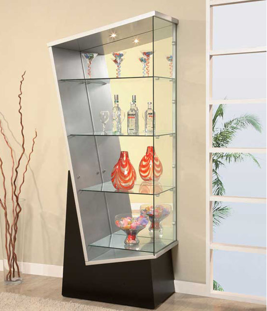 Modern Home Decor And Space Saving Furniture For Small Spaces Corner Display Cabinet Glass Cabinets Display Display Cabinet Modern Crockery Unit Design