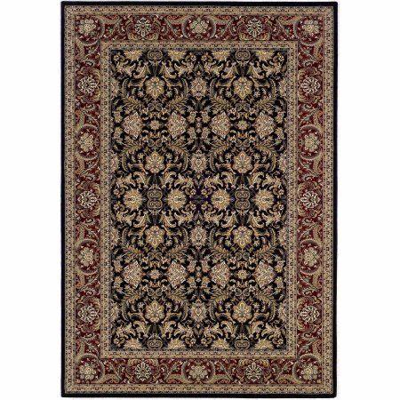 couristan himalaya isfahan rug red - Couristan Rugs