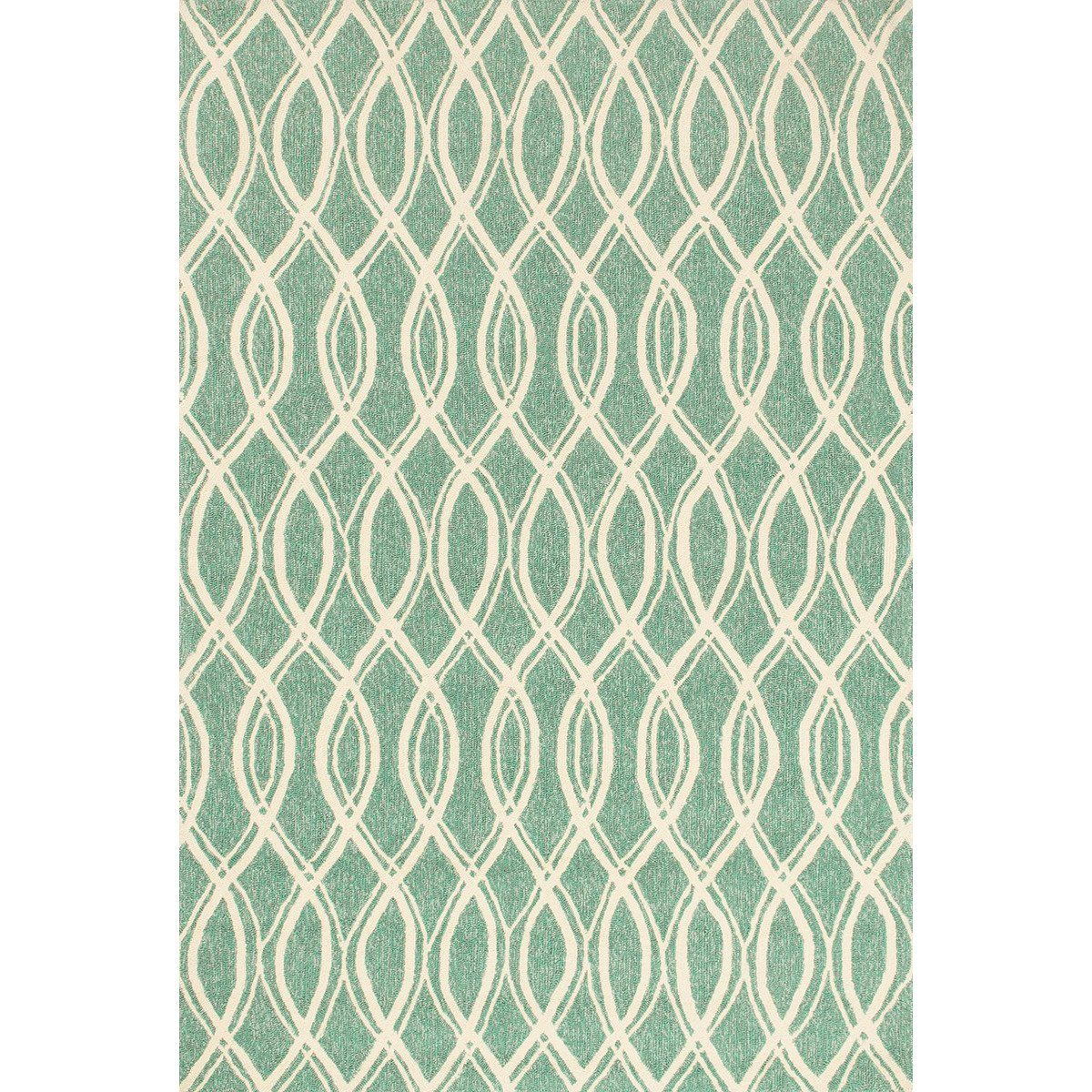Loloi Venice Beach Turquoise And Ivory Rug Rugs Indoor Outdoor Rugs Outdoor Rugs