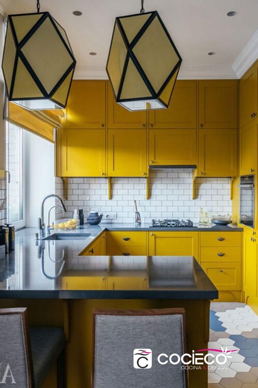 Cocinas Colores Mostaza Colores Para Cocinas Modernas Gabinetes Cocina Cocinas