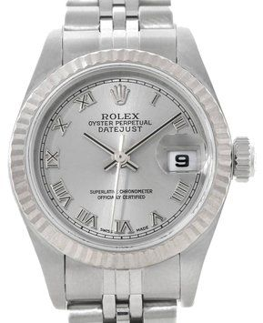 Rolex Datejust Ladies Steel 18k White Gold Watch. Get the lowest price on Rolex Datejust Ladies Steel 18k White Gold Watch and other fabulous designer clothing and accessories! Shop Tradesy now