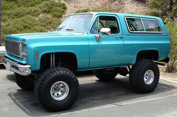 Teal Aqua Turquoise Cerulean Aquamarine Aquamarina Seafoam Cyan Tiffanyblue Chevy Blazer K5 Chevrolet Blazer Chevy