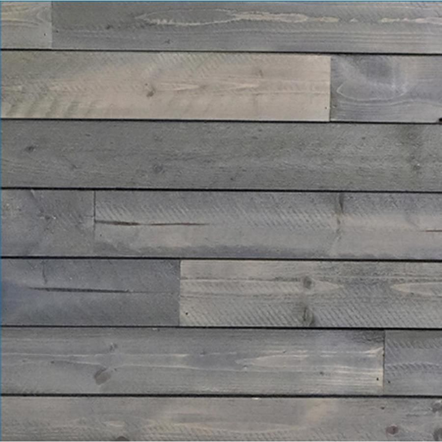 C C Wood Products Heritage Series 3 5625 In X 4 Ft Gunmetal Grey Pine Wood Shiplap Wall Plank Ship Lap Walls Wood Shiplap Wall Shiplap
